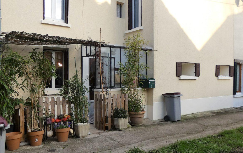 Saint Mammes Maison Ville 3 Pieces Jardin Non Attenant Peronnet