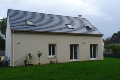 Maison neuve Veneux Peronnet
